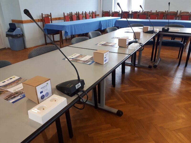 Pudełka o kształcie Polski w Projekcie z programu Interreg Europe